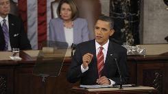 President Obama delivers the State of the Union address before a joint session of Congress Wednesday on Capitol Hill in Washington. 