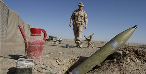U.S. troop surge focuses attention on roadside bombs