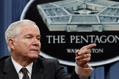 Defense Secretary Robert Gates ordered a Pentagon-wide review by Deputy Defense Secretary William Lynn of the programs in December.