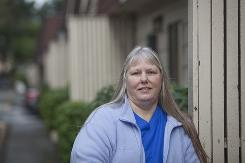 Sherie Brace belongs to a special health insurance program for low-income adults in Washington state.