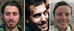 From left; Joshua Fattal, Shane Bauer, and Sarah Shourd. Iranian president Mahmoud Ahmadinejad suggested on Tuesday that Iran would release three jailed U.S. hikers in exchange for Iranians currently serving in American prisons.