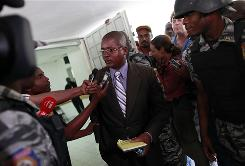Haitian lawyer Edwin Coq was fired from representing the ten Americans detained in Haiti.