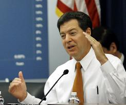 Sen. Sam Brownback of Kansas is the top Republican on the agriculture committee.