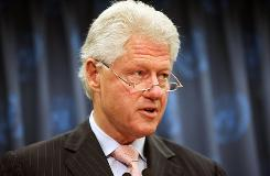 Former President Bill Clinton had two stents inserted in one of his coronary arteries.