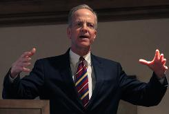 Rep. Jerry Moran, R-Kan., is among the top recipients of health industry PACs' political contributions in 2009.