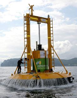 Ocean Power Technologies has begun installing a 1.39 megawatt wave farm off the coast of Santona, Spain.