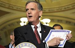 Sen. Judd Gregg, R-N.H., says bipartisanship isn't dead, and neither is the idea of revamping the nation's health care system. A bill he co-authored in 2008 has similarities to the current Democratic version.