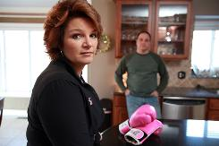 Kathy Negro, 41, was diagnosed with breast cancer and had a double mastectomy in January 2008. She started taking Tamoxifen, the only option for early-stage, pre-menopausal breast cancer patients, but got tested for a gene involved in Tamoxifen metabolism. She had one functioning and one non-functioning copy of the gene. If both had been non-functioning she says she would've had her ovaries removed, putting her into menopause so she could take a different drug. Researchers say they wouldn't recommend the test for pre-menopausal women, because Tamoxifen is their only option, and no one knows what patients who lack two functioning genes should do.