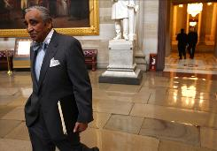 Rep. Charles Rangel, D-N.Y., said he did not want to damage Democratic prospects in the fall elections.