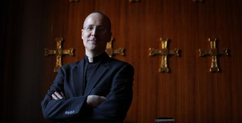 "Rev. James Martin, a Jesuit priest who's written numerous books, blog posts and appeared on Comedy Central, describes ""a longing for a connection with God and for a way to make that connection real in the world."""