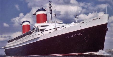 The SS United States was in service from 1952 until 1969 exclusively as a luxury liner. During this short 17 year period, America's flagship completed 400 voyages.