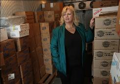 Dee Clements, food services director for the Reef-Sunset Unified School District in Kings County, Calif., says she heard from three different USDA staff members about a recent beef recall.