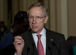 Senate Majority Leader Harry Reid, D-Nev., wrote a letter to his Republican counterparts describing the path ahead for the health care vote.