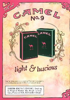 A study shows that advertising for Camel No. 9, introduced in 2007 by R.J. Reynolds, appealed to teen girls. Camel No. 9 is still on shelves, but the tobacco company has stopped marketing it in stores and in print.