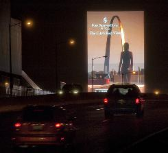 St. Louis is among a growing number of cities instituting a moratorium on digital and other electronica billboards, at least until it sees an extensive review by the Federal Highway Administration.