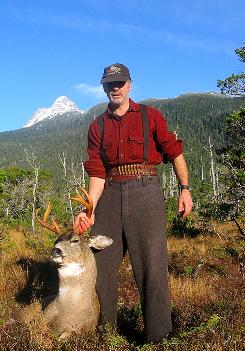 Hunting guide Scott Newman of Petersburg, Alaska, says his clients want to see &quot;wild Alaska.&quot;