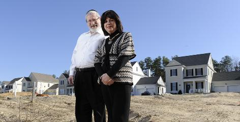 Elazer and Barbara Lew moved from Staten Island to Pine River Village, a new active-adult community in Lakewood, N.J., three years ago. Because of the housing market crash, the developer now wants to sell the homes to people of all ages.