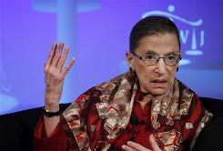 U.S. Supreme Court Justice Ruth Bader Ginsburg called this month for an end to judicial elections.