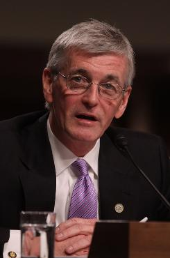 Army Secretary John McHugh testifies on Capitol Hill in Washington, Tuesday, Feb. 23.