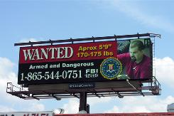 About 125 digital billboards across Georgia, including about 80 in the Atlanta area, are used to showcase some of the state's most wanted cirminals.