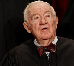 Supreme Court Justice John Paul Stevens announced April 9 that he will step down when the court finishes its work for the summer in late June or early July.