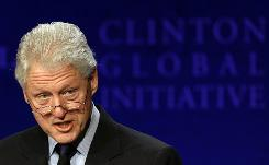 Former U.S. President Bill Clinton's Global Initiative program began five years ago. In 2008, he extended it to college students.