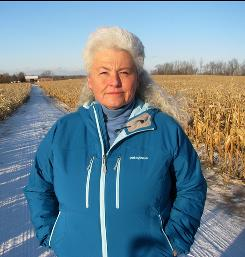 Lynn Henning of Michigan won a Goldman Prize for her efforts against concentrated animal feeding operations.