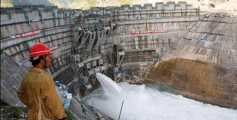 Still under construction, the 66-story-high Xiaowan dam is scheduled to be completed this year. Other countries accuse China of stealing water.