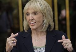 In Arizona, Republican Gov. Jan Brewer fought to put the sales tax hike on the ballot for the state's upcoming primary.