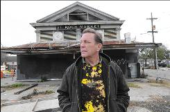 John Victorson, owner of St. Roch Tavern, hopes his business and neighborhood will be restored under the new mayor. Mayor Ray Nagin's administration has faltered in the recovery from Hurricane Katrina and allowed hundreds of city buildings to sit in limbo as they deteriorate at the hands of vandals and weather, according to an analysis by The Associated Press.