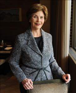 Former first lady Laura Bush sat down with USA TODAY to talk about her memoir. She also discused her life since leaving the White House.