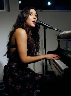 Musician Vanessa Carlton performs at Live Earth in Venice, Calif., in February 2008.