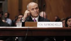 New York Police Commissioner Ray Kelly testifies on Capitol Hill in Washington D.C. on Wednesday, May 5.