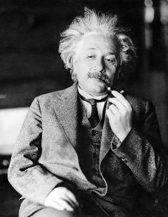 Albert Einstein proposed that by using mirrors to send light emitted back into the atoms, a chain reaction could be triggered releasing an avalanche of same-wavelength light.