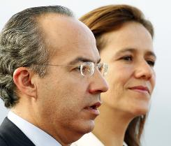 Mexican President Felipe Calderon's visit will include a joint press conference in the Rose Garden on Wednesday and a state dinner honoring the Mexican president and his wife, Margarita Zavala.