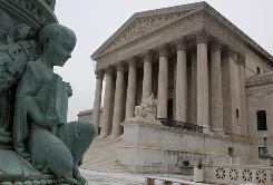 The U.S. Supreme Court Building is seen on March 2 in Washington, D.C.