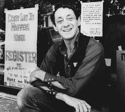 Gay-rights advocate Harvey Milk was elected to San Francisco's Board of Supervisors in 1977. He was killed in 1978 by a former supervisor.
