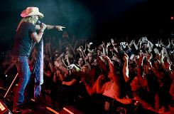 Bret Michaels sings at his comeback show to a sold out crowd of 1,800 Friday at the Hard Rock Hotel & Casino in Biloxi, Miss.