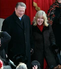 Tipper Gore was seen as someone who helped humanize her handsome but stiff leading man.