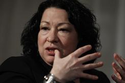 Supreme Court Justice Sonia Sotomayor says defendants often use equivocal or colloquial language in attempting to invoke their right to silence.
