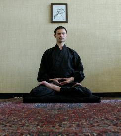 Dr. Giuseppe Pagnoni is a zen monk researcher who did a mediation in an MRI machine study in 2008.