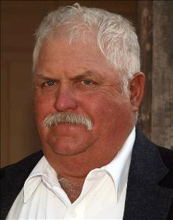 Robert Krentz, seen here in 2008, was killed in March on his 35,000-acre ranch north of Douglas.