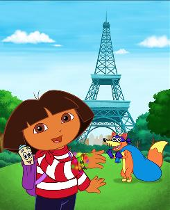 Dora the Explorer and other cartoon characters on the package made kids think food tasted better.