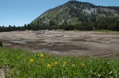 Incline Lake was drained by its owners after a seismic safety study suggested its dam might fail during an earthquake.