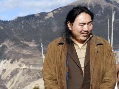 This Dec. 16, 2008, shows Karma Samdrup at Mount Kawakarpo Dechen in southwestern China's Yunnan province.