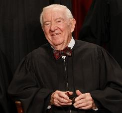 Associate Justice John Paul Stevens will have served more than 34 years and tie with one other to be the Supreme Court's second-longest-serving jurist when he steps down on Tuesday.