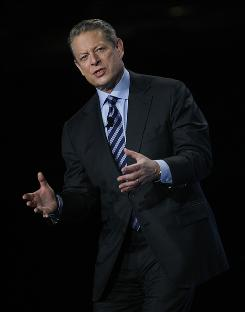 Oregon authorities are reopening an investigation into a massage therapist's allegations that former vice president Al Gore, seen here in November 2009 at a conference in Phoenix, groped her at a hotel four years ago.