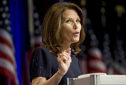 "Rep. Michele Bachmann, R-Minn., is a top fundraiser who has said she believes President Obama may hold ""anti-American"" views."