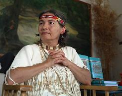 Edna Dancing Cloud Duncan, a Central Band of Cherokees tribe member, is proud to be newly recognized as Native American.