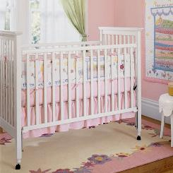 An image of the Camille crib. Thousands of drop-side cribs from popular retailer Pottery Barn Kids are being recalled over safety concerns.
